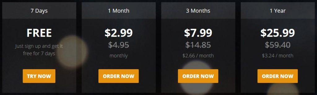 hideipvpn pricing