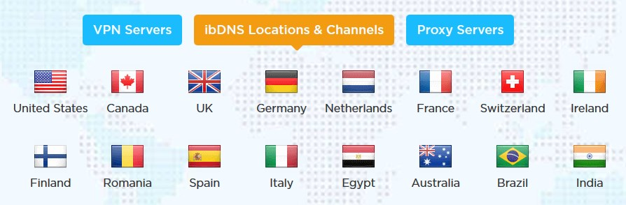 ibvpn dns locations